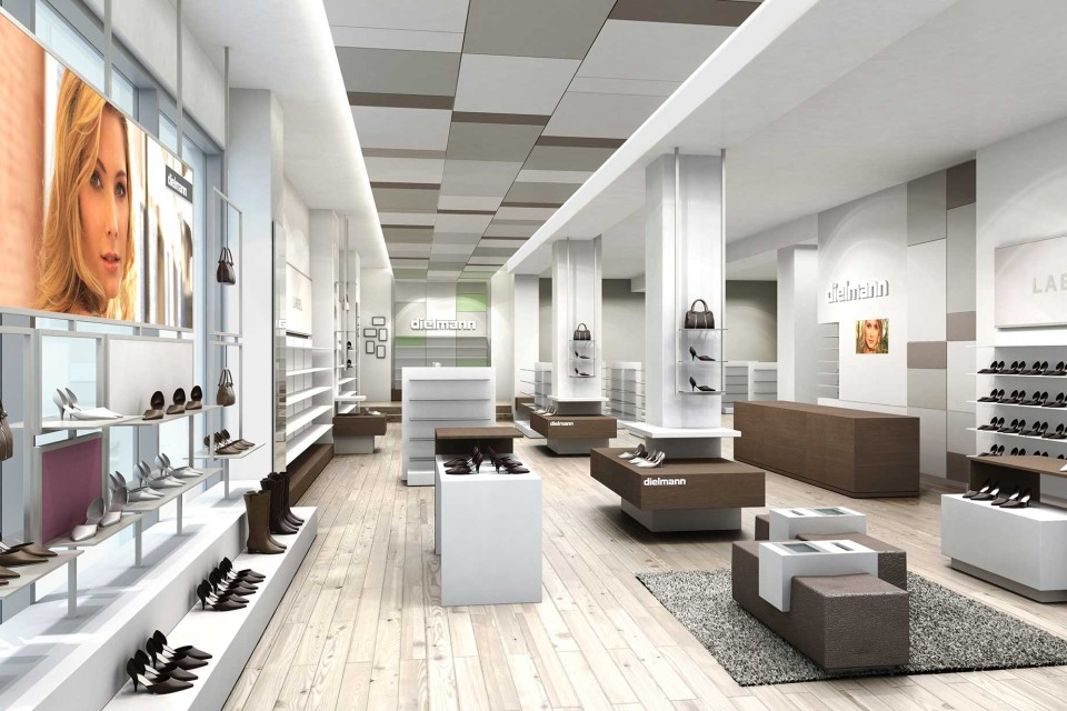 buy online 2ca60 acd9b Dielmann Schuhe | Interior-, Corporate-, Retail-Design ...