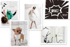 Breil+ Postkartenset